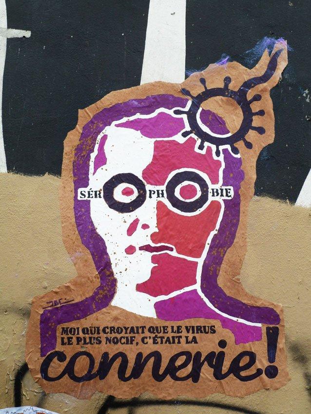 Collage collectif dans Street Art tous_pedes