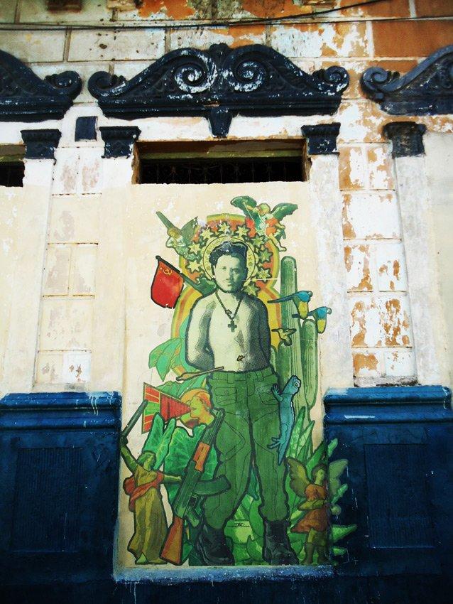 Collage sur mur à Barranquilla, Colombie dans Street Art 5camilo_bquilla_web