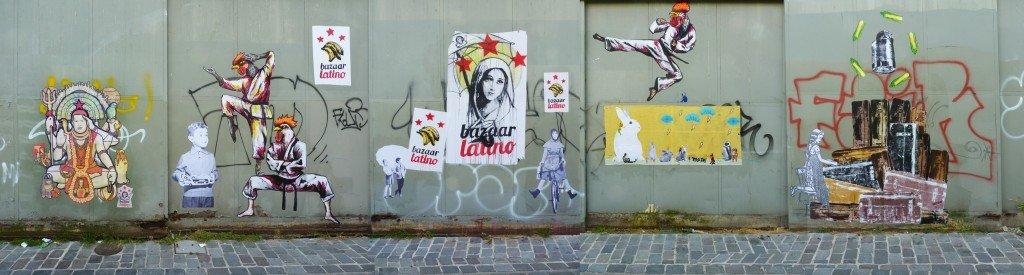 bazaar-mural dans Street Art