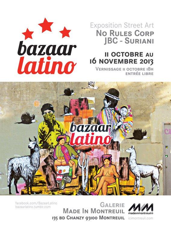 Autour de l'Amérique Latine contemporaine dans Oeuvres flyer_bl